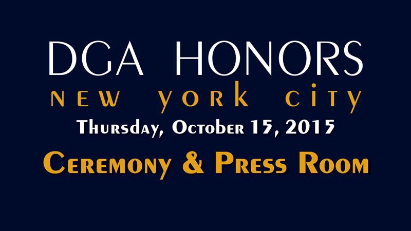 DGA Honors