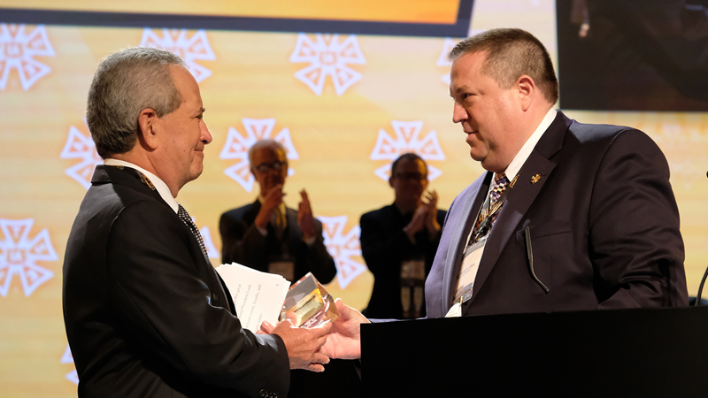 Roth Recognized by IATSE with Honorary Lifetime Membership
