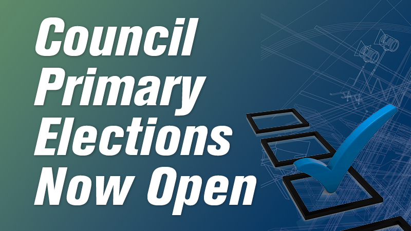 Council Primary Elections Now Open