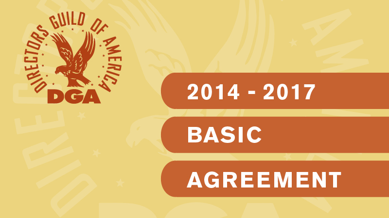 DGA Basic Agreement 2014-2017