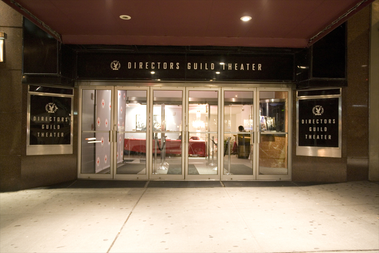 New York Theater Entrance, Lobby, & Reception Area